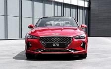 Обои автомобили Genesis G70 3.3T KR-spec - 2017