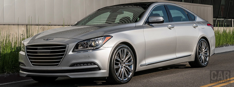 Обои автомобили Genesis G80 US-spec - 2016 - Car wallpapers