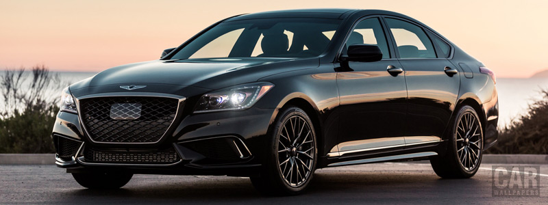 Cars wallpapers Genesis G80 Sport US-spec - 2017 - Car wallpapers
