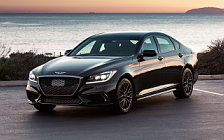 Cars wallpapers Genesis G80 Sport US-spec - 2017