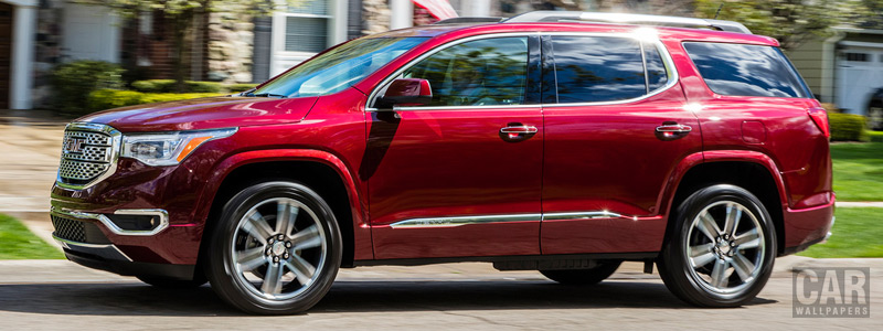 Обои автомобили GMC Acadia Denali - 2016 - Car wallpapers