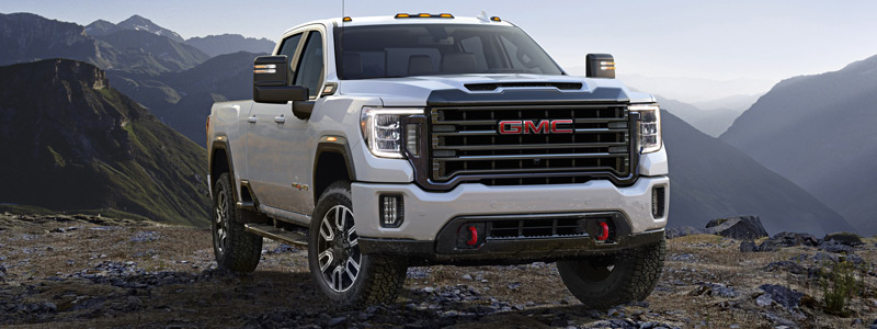 Обои автомобили GMC Sierra 2500 HD AT4 Crew Cab - 2019 - Car wallpapers