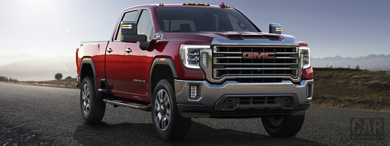 Обои автомобили GMC Sierra 2500 HD SLT Crew Cab - 2019 - Car wallpapers