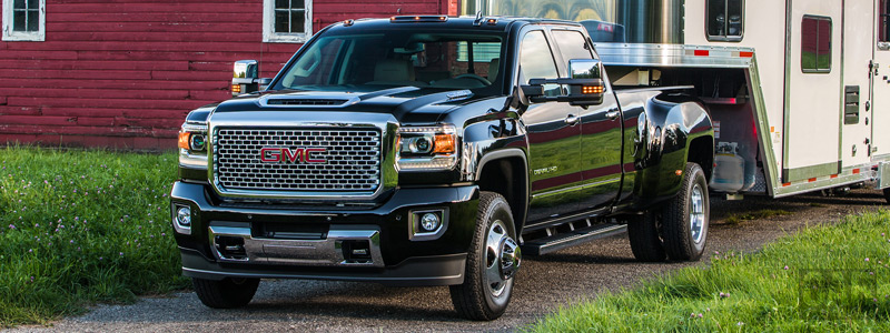 Обои автомобили GMC Sierra 3500 HD Denali Crew Cab - 2016 - Car wallpapers