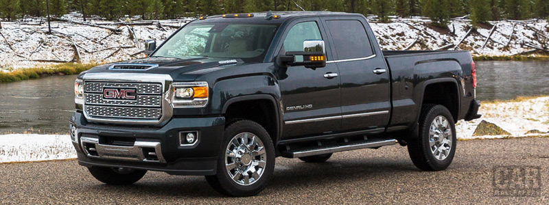 Обои автомобили GMC Sierra 2500 HD Denali Crew Cab - 2017 - Car wallpapers