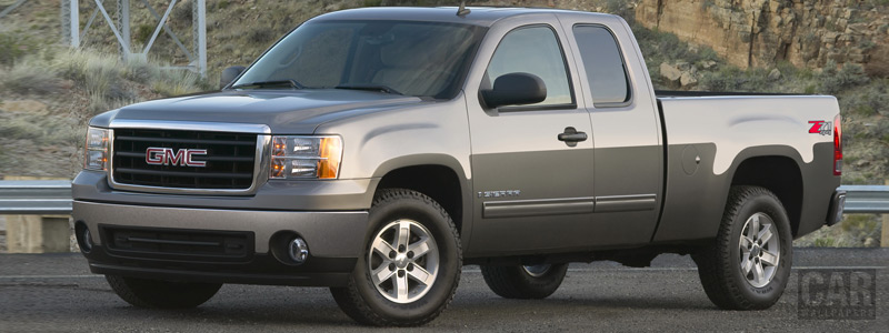 Cars wallpapers - GMC Sierra SLE Extended Cab - Car wallpapers