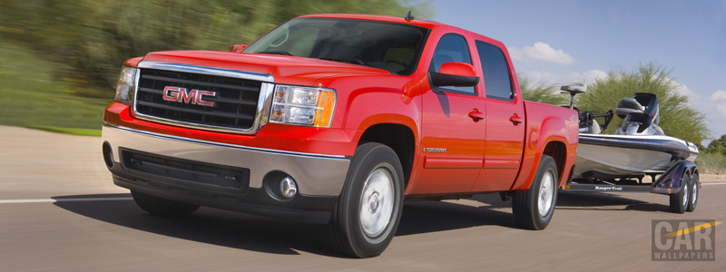 Cars wallpapers - GMC Sierra Z71 Crew Cab - Car wallpapers