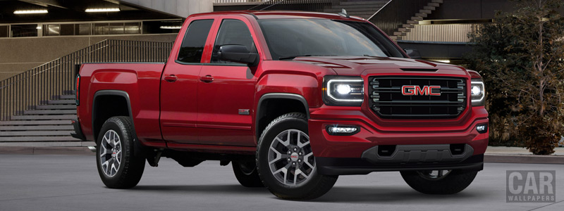 Обои автомобили GMC Sierra 1500 All Terrain Double Cab - 2017 - Car wallpapers