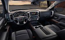 Обои автомобили GMC Sierra 1500 SLT Crew Cab - 2017