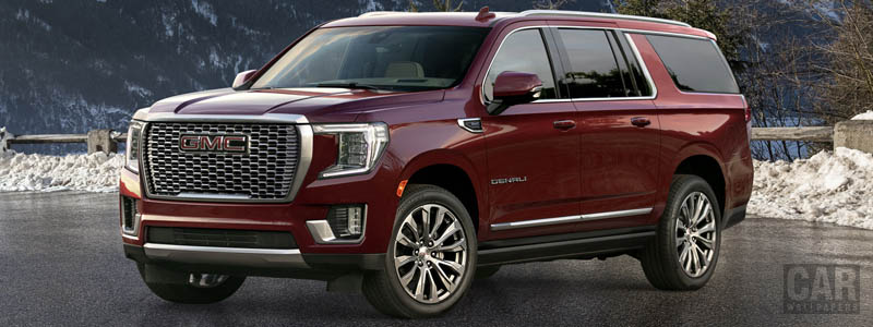 Обои автомобили GMC Yukon XL Denali - 2020 - Car wallpapers