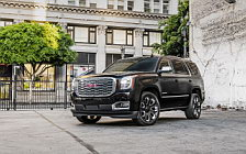 Обои автомобили GMC Yukon Denali Ultimate Black - 2018