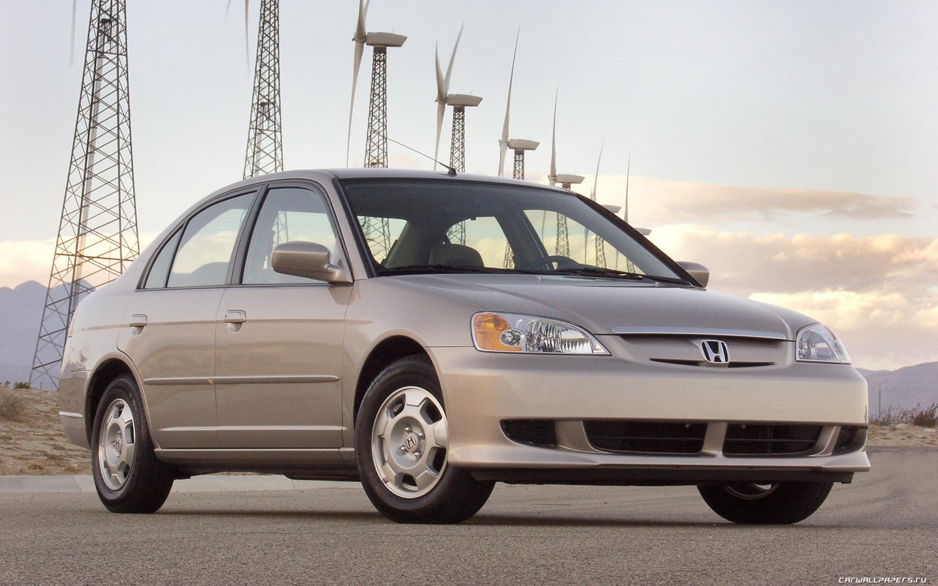 Cars Desktop Wallpapers Honda Civic Hybrid Us Spec 2003 1280x800 1440x900 1680x1050 1920x1200