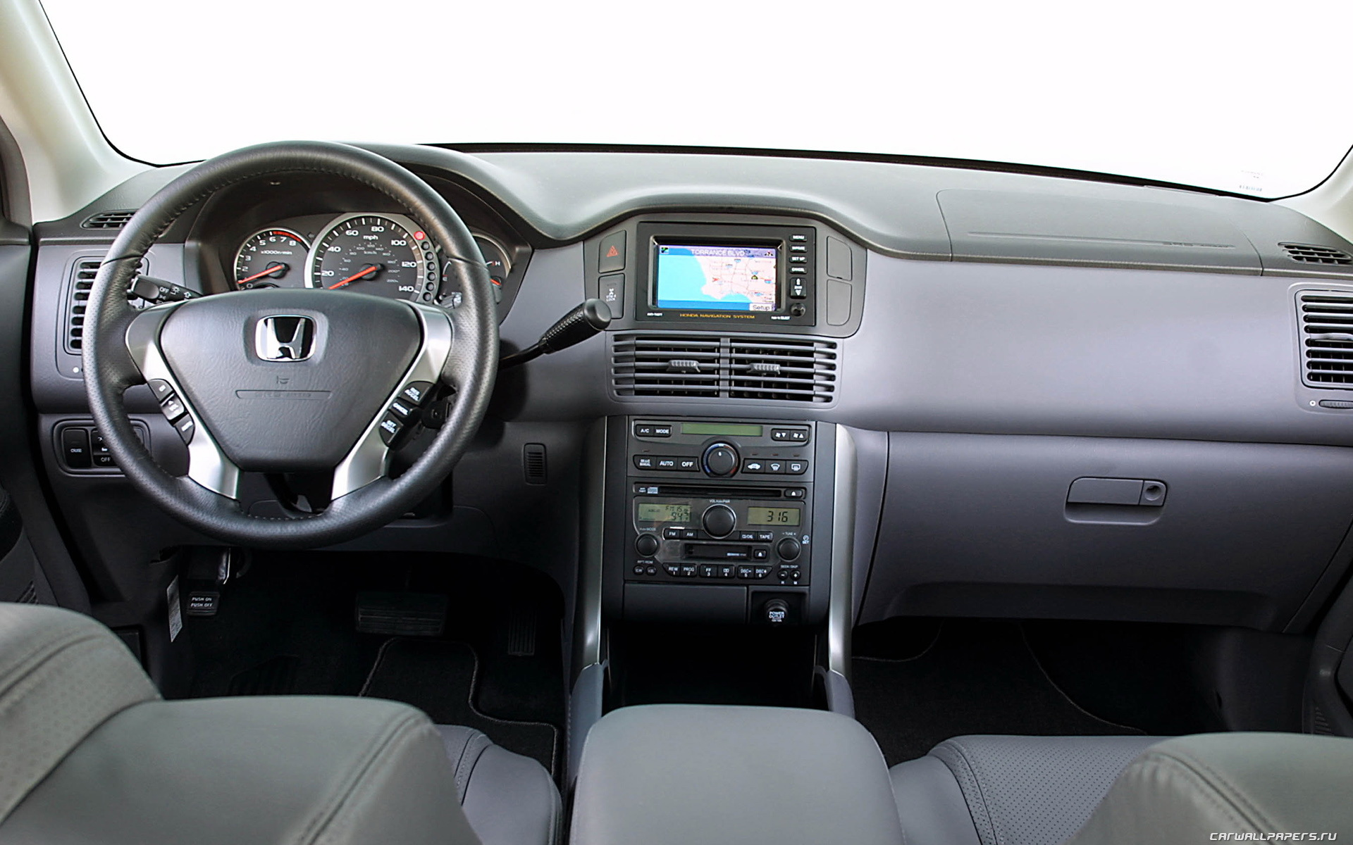 2014 honda pilot black interior