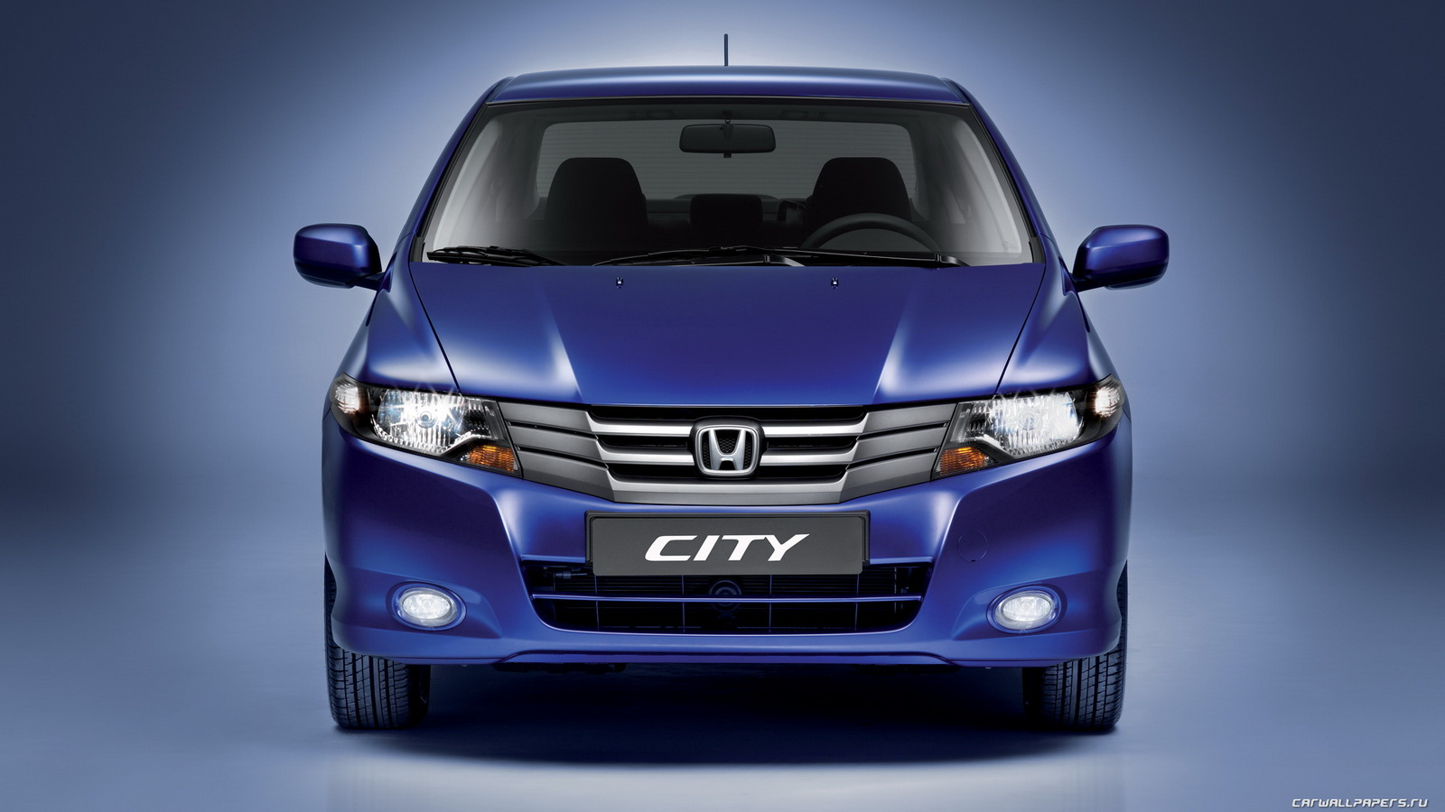 Honda City Third Gen Blue Front