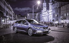 Обои автомобили Honda Civic Tourer Sports Pack - 2013
