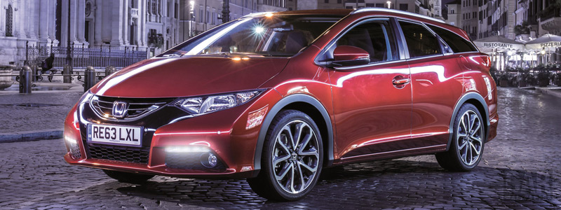 Обои автомобили Honda Civic Tourer - 2013 - Car wallpapers