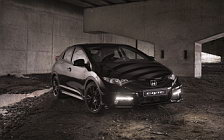 Обои автомобили Honda Civic Black Edition - 2014