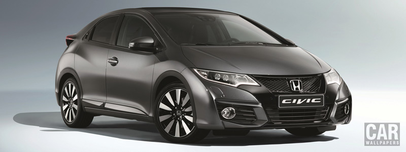 Обои автомобили Honda Civic - 2014 - Car wallpapers