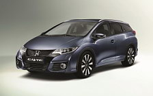 Обои автомобили Honda Civic Tourer - 2015