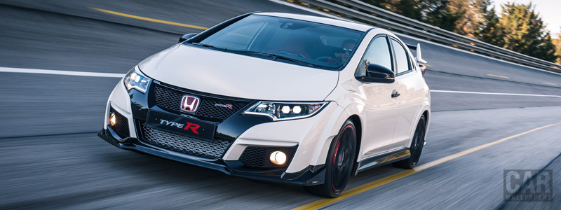 Обои автомобили Honda Civic Type R - 2015 - Car wallpapers