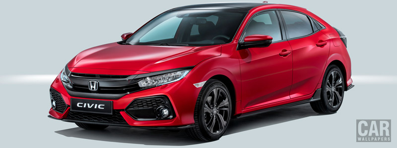 Обои автомобили Honda Civic Hatchback - 2016 - Car wallpapers