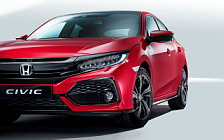 Обои автомобили Honda Civic Hatchback - 2016
