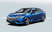 Обои автомобили Honda Civic Sedan - 2016