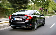 Обои автомобили Honda Civic Sedan - 2017