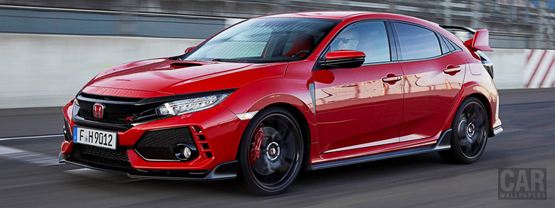 Обои автомобили Honda Civic Type R - 2017 - Car wallpapers