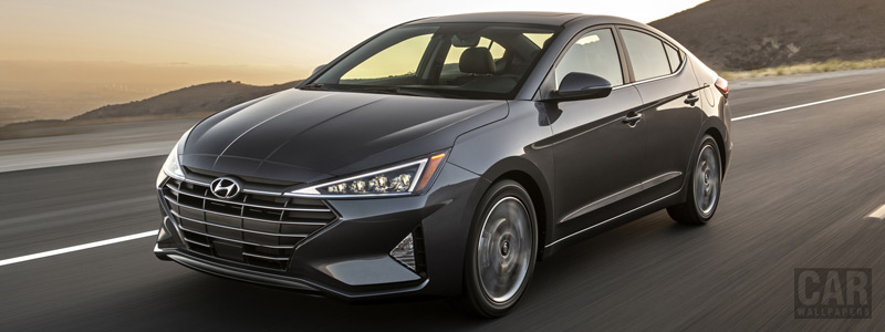 Обои автомобили Hyundai Elantra Limited US-spec - 2018 - Car wallpapers