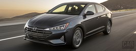 Hyundai Elantra Limited US-spec - 2018