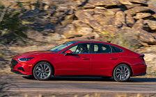 Обои автомобили Hyundai Sonata Limited (Calypso Red) US-spec - 2019