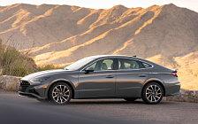 Обои автомобили Hyundai Sonata Limited (Portofino Gray) US-spec - 2019