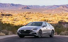 Обои автомобили Hyundai Sonata Limited (Shimmering Silver Pearl) US-spec - 2019