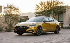Обои автомобили Hyundai Sonata SEL Plus US-spec - 2019
