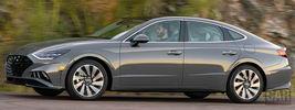 Hyundai Sonata Limited (Portofino Gray) US-spec - 2019