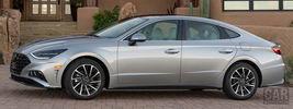 Hyundai Sonata Limited (Shimmering Silver Pearl) US-spec - 2019