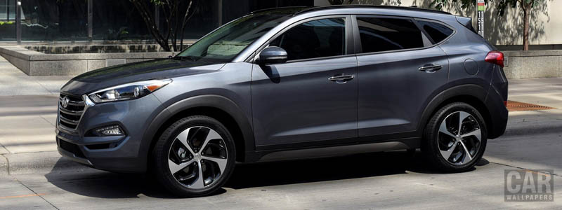 Обои автомобили Hyundai Tucson US-spec - 2015 - Car wallpapers
