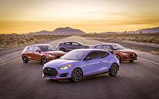 Обои автомобили Hyundai Veloster Model Range US-spec - 2018