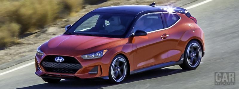 Обои автомобили Hyundai Veloster Turbo US-spec - 2018 - Car wallpapers