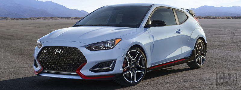 Обои автомобили Hyundai Veloster N US-spec - 2019 - Car wallpapers