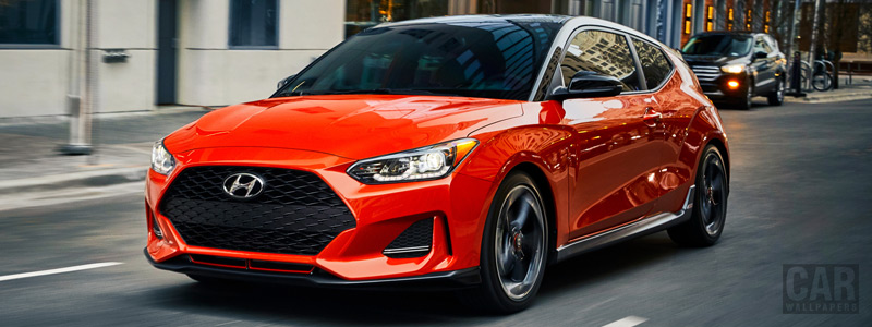 Обои автомобили Hyundai Veloster Turbo US-spec - 2019 - Car wallpapers