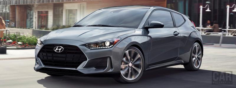 Обои автомобили Hyundai Veloster US-spec - 2019 - Car wallpapers