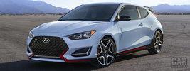 Hyundai Veloster N US-spec - 2019