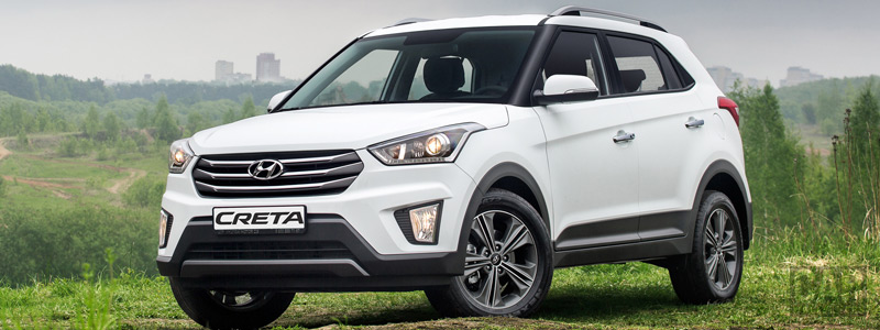 Обои автомобили Hyundai Creta - 2016 - Car wallpapers