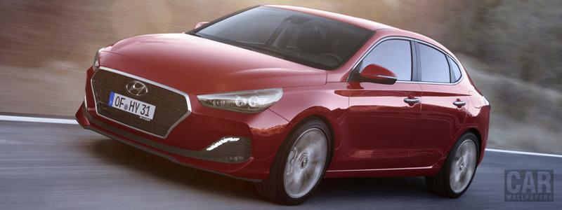 Обои автомобили Hyundai i30 Fastback - 2018 - Car wallpapers