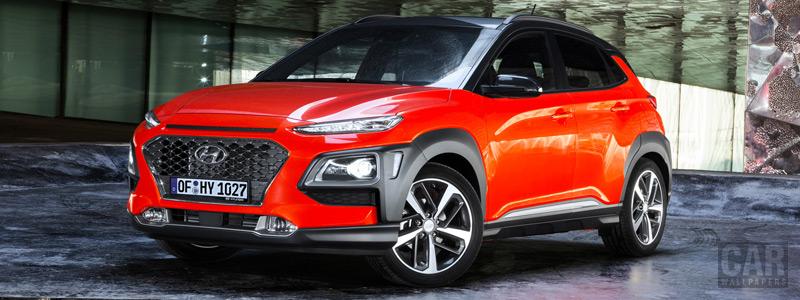 Обои автомобили Hyundai Kona - 2017 - Car wallpapers