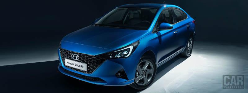 Обои автомобили Hyundai Solaris - 2020 - Car wallpapers