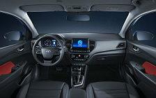 Обои автомобили Hyundai Solaris - 2020