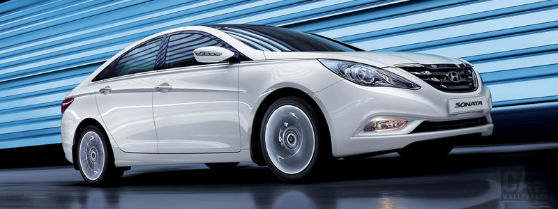 Cars wallpapers Hyundai Sonata - 2009 - Car wallpapers